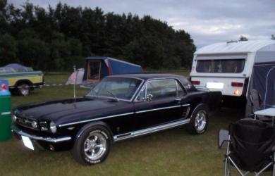Sally min første Mustang