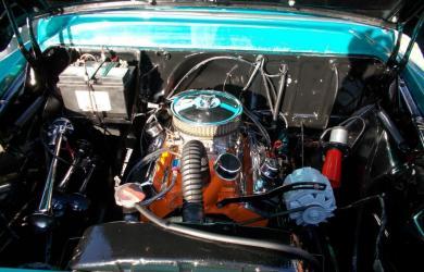 Renoveret Motorrum Chevy Pickup 1958