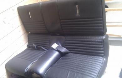 Re-Upholster Deluxe Fastback Seats